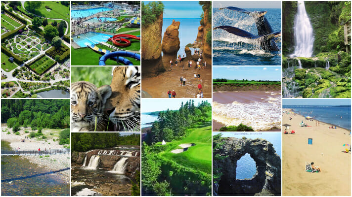 12 top places New Brunswick